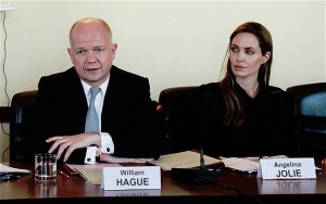 William Hague and Angelina Jolie 2