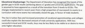 Educational Disadvantage